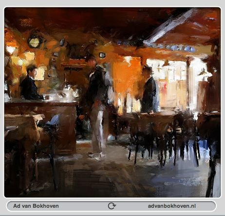 Amsterdam Painter Workshop hands-on digital painting instruction