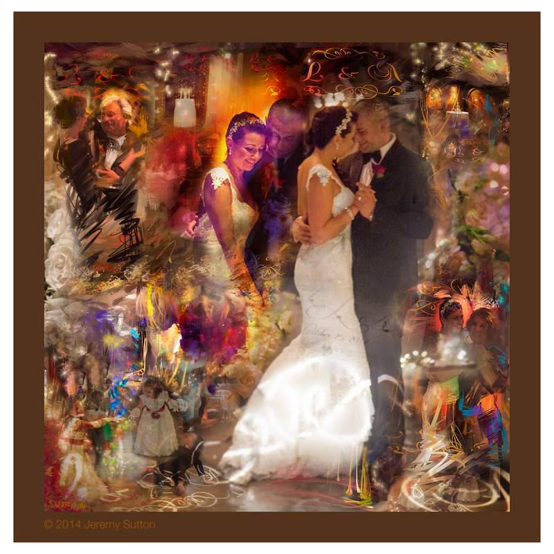 lisa alessandros wedding painting